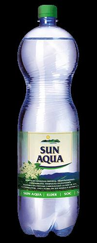 Sun Aqua természetes ásványvíz bodza 1,5L