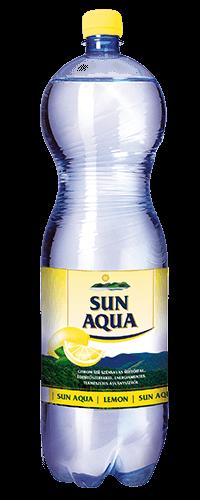 Sun Aqua természetes ásványvíz citrom 1,5L