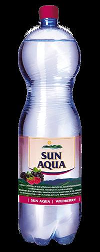 Sun Aqua természetes ásványvíz erdei gyümölcs 1,5L