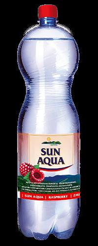 Sun Aqua természetes ásványvíz málna 1,5L