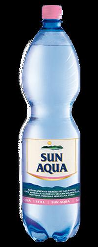 Sun Aqua természetes ásványvíz szénsavmentes 1,5L
