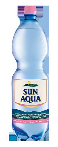 Sun Aqua természetes ásványvíz szénsavmentes 2L