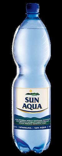 Sun Aqua természetes ásványvíz szénsavas 1,5L