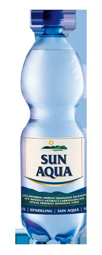 Sun Aqua természetes ásványvíz szénsavas 2L